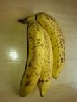 ripe bananas, the more dots the sweeter the banana
